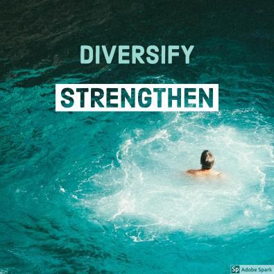 diversify strengten