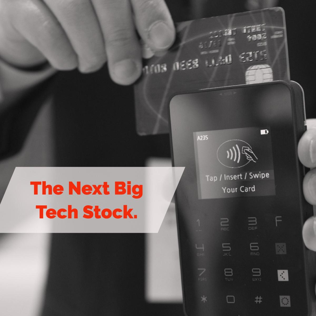 The Next Stock To Invest - Cashless Transaction Technology.